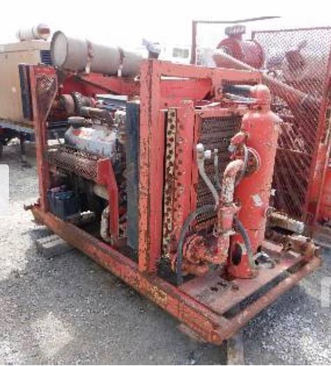 Used Grimmer Shmidt Booster Hurricane Booster Compressor
