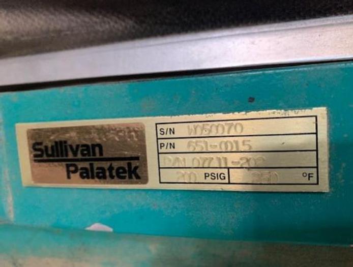 Sullivan 30 HP Horizontal Screw Compressor