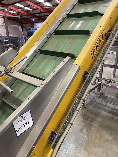 Used Steel Elevator 4.5m L 0.75m W