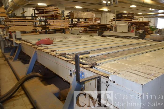 Used Complete Operation Engineered Flooring Line