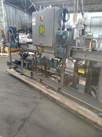 Used Hartness 825 case packer Stainless  825 8-761