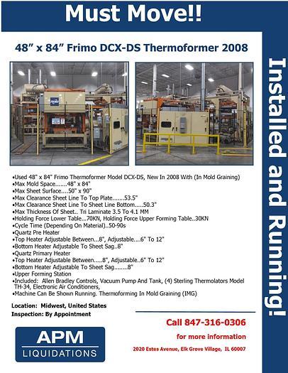 Used 2008 Frimo DCX-DS