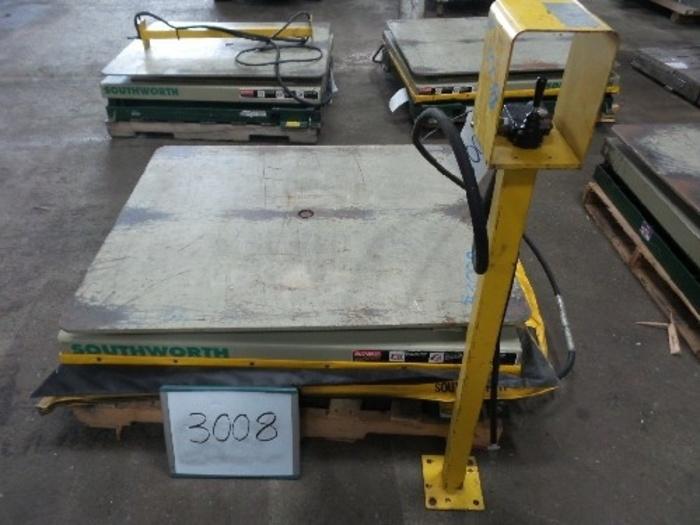 Southworth Model LS Pallet Lift Table