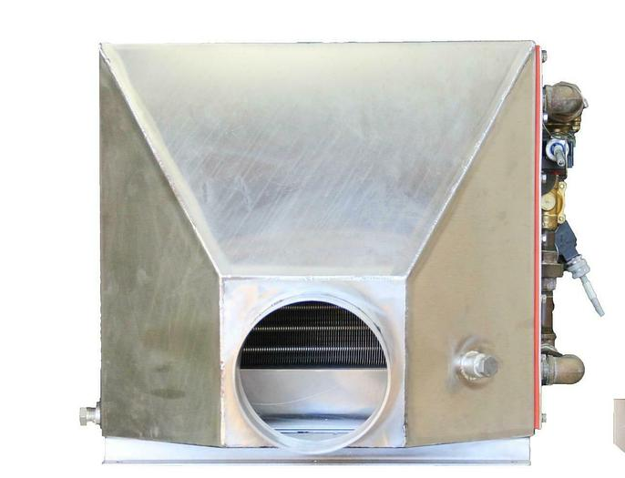 Used Air Water Heat Exchange 208V Stainless Steel From La Calhene Isolation (7079) R