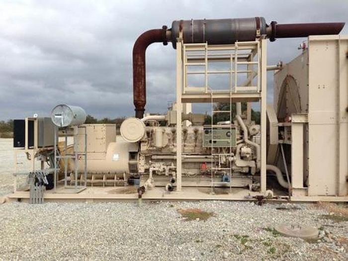 Used 2.25 MW 2004 Used Caterpillar G3516 Natural Gas Generator