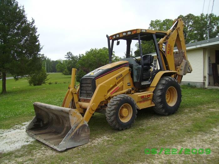 2005 CAT 416D 4WD