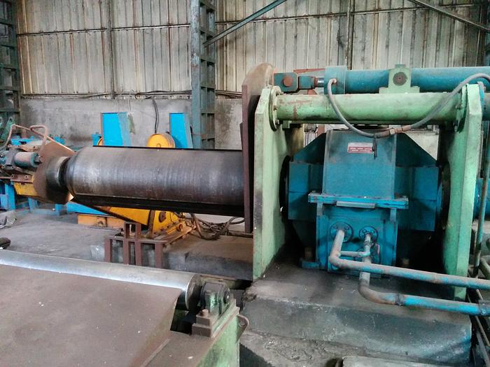 1350mm Twin Roll Aluminum Continuous Strip Caster Mc 410