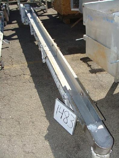 Commercial 6 wide x 16' long Vibratory Shaker/Conveyor