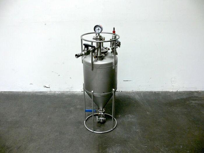 Used Alloy Products Corp 20 Liter Conical Process Vessel 120PSI @ 400F