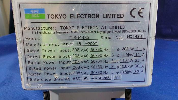 Used Tokyo Electron T-3044SS Module, Circuit Breaker / 93-M50268-V1 / T-3044SS / Tokyo Electon