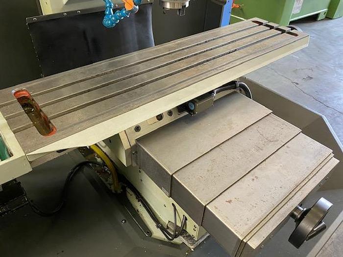 "Used 2014 KENT TW-32Qi CNC TOOLROOM BED MILL Cnc or Manual / xyz 32"" x 18"" x 18""  Table 12"" x 50"""