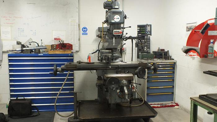 Used 1999 AJAX AJT 4SP TURRET MILLING MACHINE