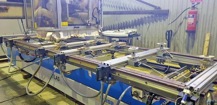 Used 2000 Masterwood Italy Masterwood CNC for door and window production  Woodmaster ATLAS