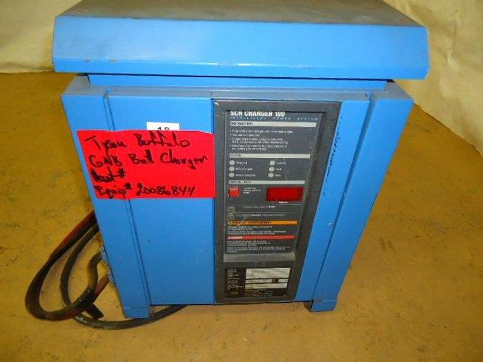 Used SAFT NIFE Corp Battery Charger; Md#SCR100-12-26051-L
