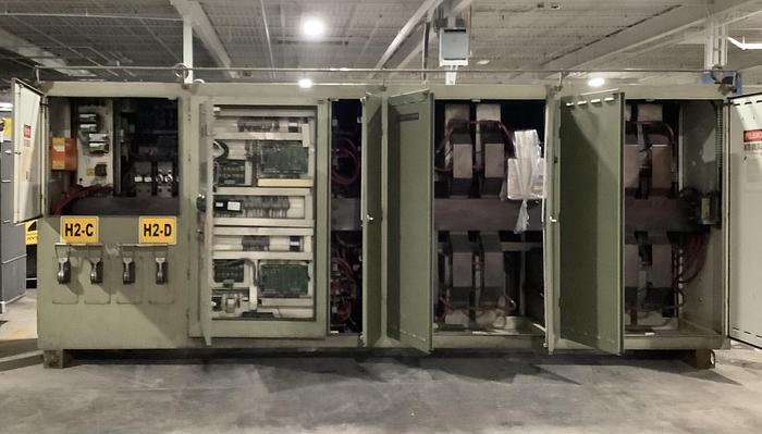 2006 INDUCTOTHERM 1250 KW DUAL TRAK POWER SUPPLY (On Hold)