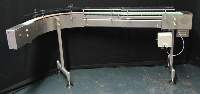 Used P 14757 D - Curved Conveyor BAUSCH + STRÖBEL
