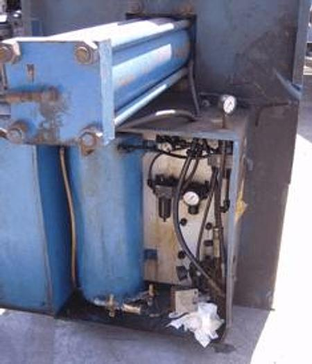 Used 30 CU. FT. DURCO MODEL E03580 FILTER PRESS – POLYPRO- 930 MM