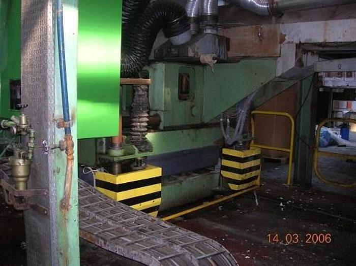 """Used 90"""" (2300mm) ERWEPA EXTRUSION LINE W/ 4 COLOR IN LINE FLEXO PRINTING FULL LINE"""