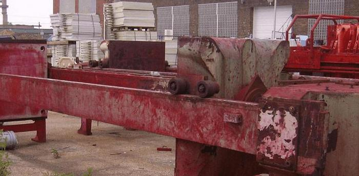 Used 65 CU. FT. FILTER PRESS – POLYPRO. – 1200 MM – AUTOMATIC CLOSURE