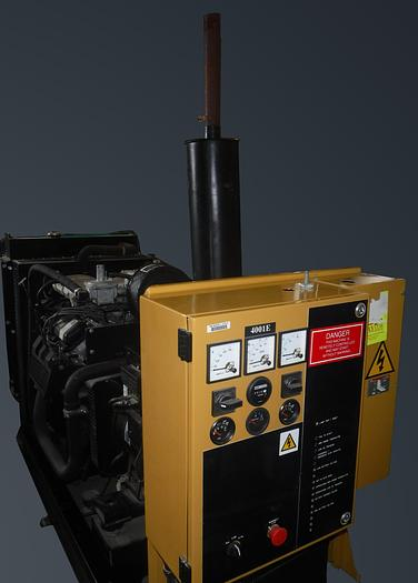 Used STAND-BY GENERATOR, OLYMPIAN MODEL G30F3, 30KW