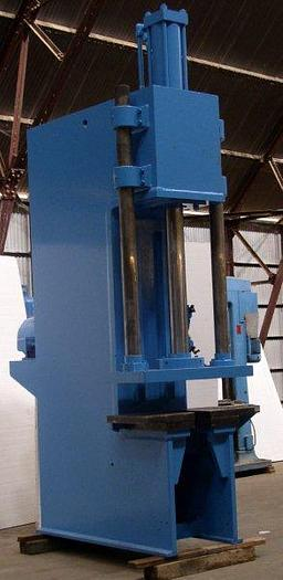 50 Ton Greenerd C-Frame Hydraulic Press; 20'' x 26'' bed; 40'' Str, 48'' D.L.O; $27,500