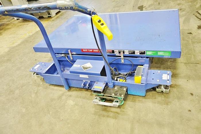 AutoQuip 2500 Lb Electric Portable Lift Table 36SRV25