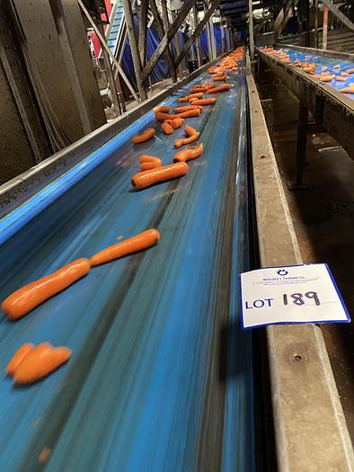 Used Steel Conveyor Belt 27m L 0.7m W