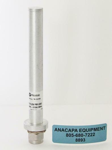 Used Microlab TK-21MN, 10W low PIM Cable Loads, 698-2700 MHz (8893)W