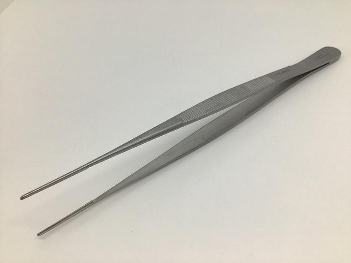Used Forceps Tissue Dissecting Atraumatic DeBakey 1.5mm Vascular 200mm