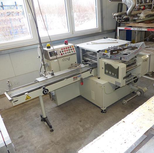 Gebraucht PRB Packaging Systems Italy Modell Penta für Volleinschlag, Baujahr 2001.