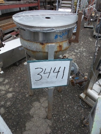 10 Gallon Jacketed Lab Kettle #3441