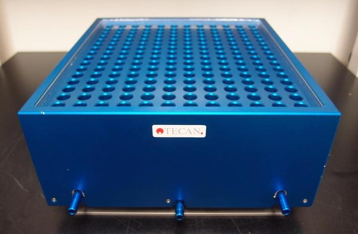 Used Tecan 192 tube PCR Chiller Chamber Rack for Tecan Freedom EVO (3094)