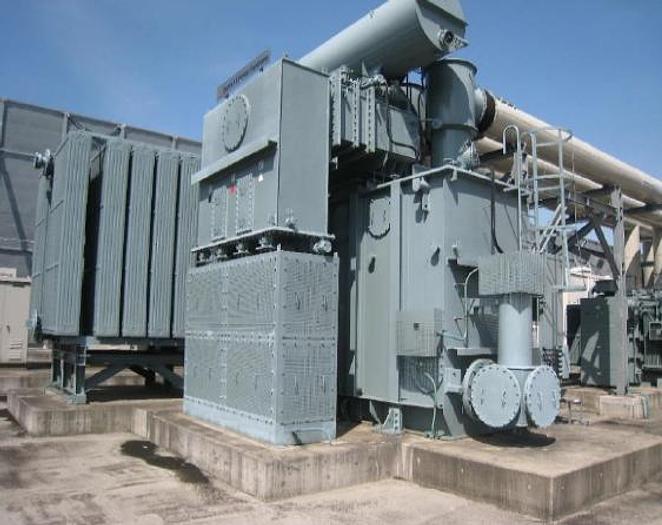 81 MW 2011 Used GE Frame 6FA Natural Gas Turbine Power Plant