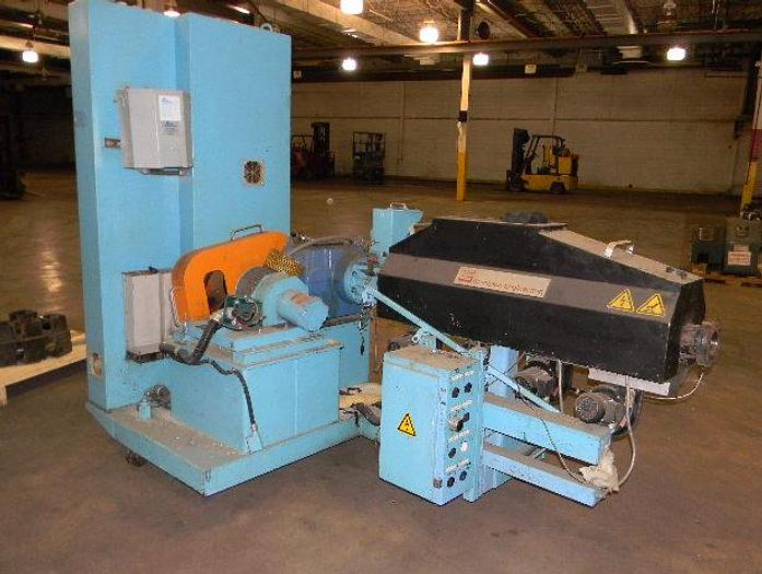 """Used 2"""" Brampton Air Cooled 24:1 Extruder No Motor No Panel"""