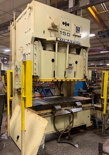 165 ton Komatsu 2pt. Gap Mechanical Press