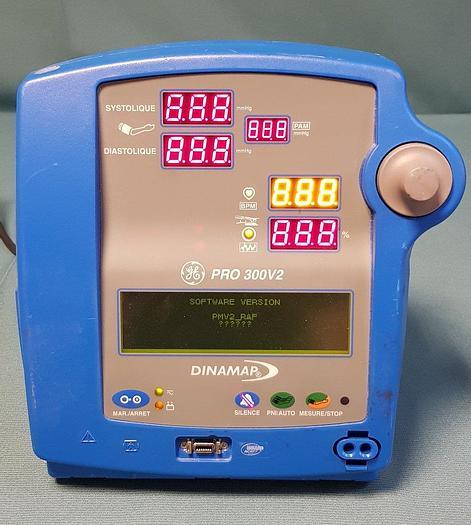 Used GE DINAMAP DP310N ohne Sensor ohne Wagen