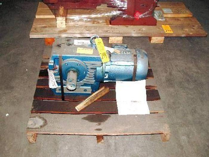 Used EURODRIVE S80-182TYXP SPEED REDUCER
