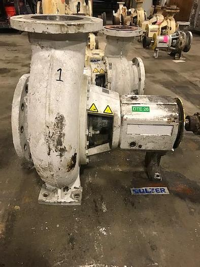 Used AHLSTROM / SULZER APT 42-8  8 x 10 -10 CENTRIFUGAL PUMP S/S MFG. 2008