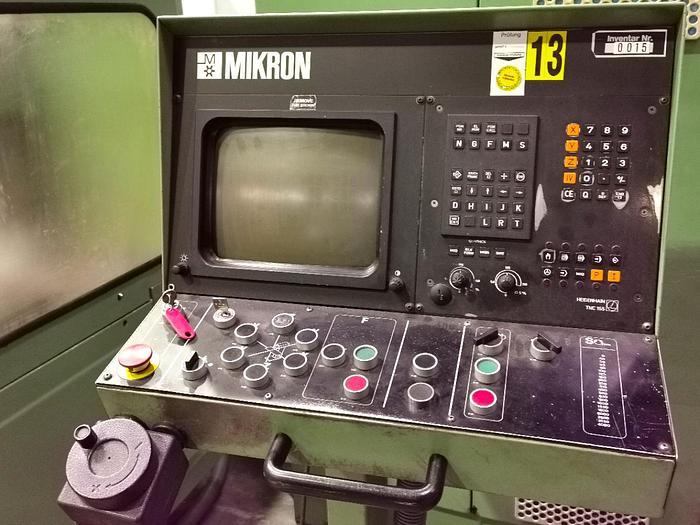 1988 CNC Werkzeugfräsmaschine  MIKRON WF 21 C