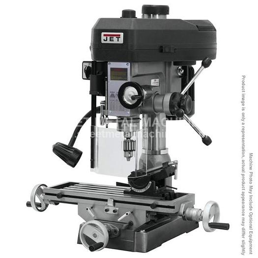 JET JMD-15 Mill/Drill with R-8 Taper 115/230V 1Ph 350017