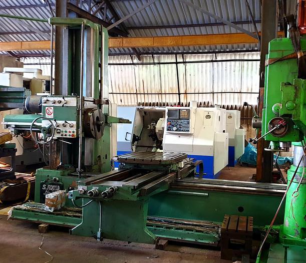 Used San Rocco AL75 Horizontal Boring Machine