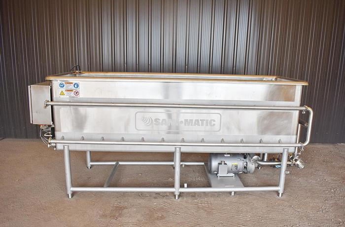 Used USED 400 GALLON SANI-MATIC CLEAN OUT OF PLACE ''COP'' SYSTEM