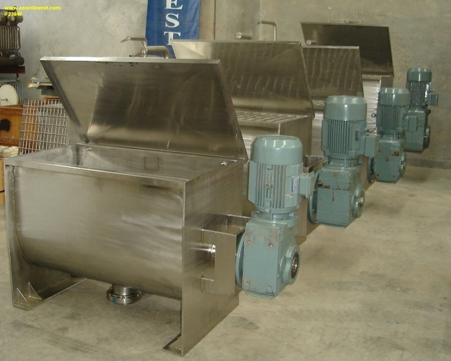 AIRBLEND Ribbon Blenders and Mixers HELIMIX Mixers General