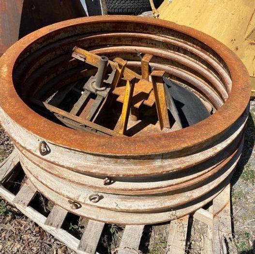 Used 48″ ID Precast Manhole Pallets and Headers
