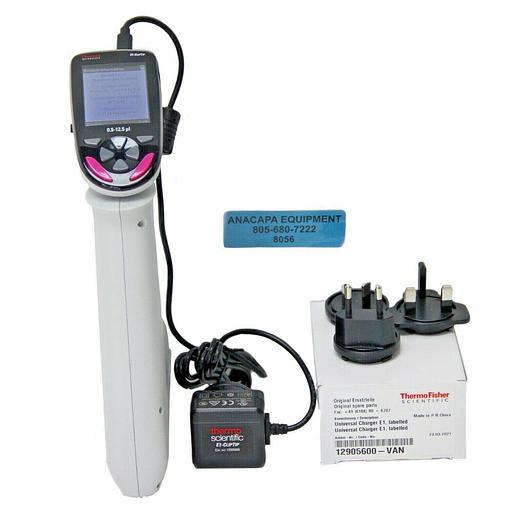 Used Thermo Scientific E1-ClipTip 4671010 0.5-12.5µL Electronic Pipette (8056)W