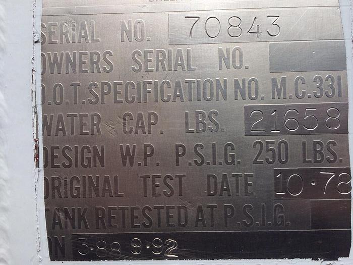2000 GMC TOPKICK C6500 LPG TANK TRUCK
