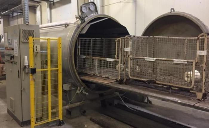 Used AUTOCLAVES FOR YARN STEAMING POZZI LEOPOLDO BR-A-1550