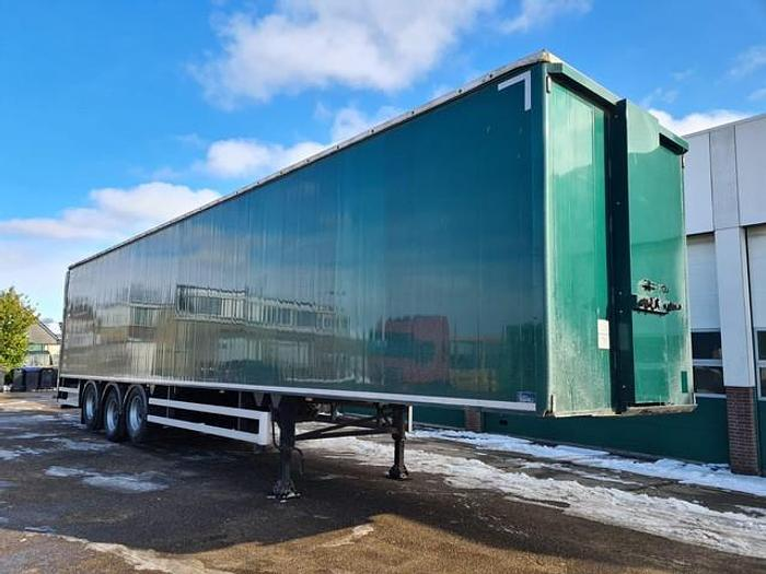 Used 2015 CUPPERS LP-2011 Closed Box / Double Floor / Sliding Roof / Tailgate 2000 KG