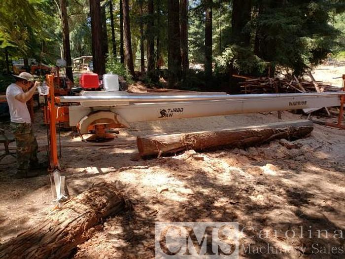 Used 2018 Turbo Saw Automated Warrior Swing Blade Sawmill