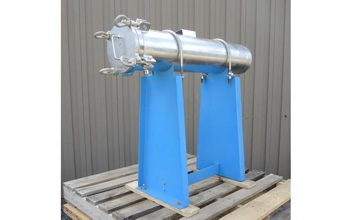 """USED FILTER, CARTRIDGE TYPE, 2"""" INLET/OUTLET, STAINLESS STEEL"""